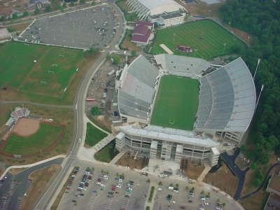 Blimp View Stadium
