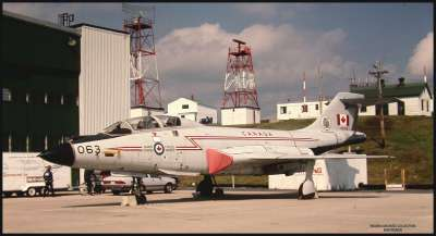CANADIAN ARMED FORCES F101 VOODOO SHEARWATER CAFB