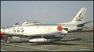 JAPANEESE AIR DEFENSE NA F86
