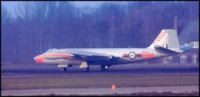 RAF WJ753 CANBERRA GUTERSLOTH GERMANY