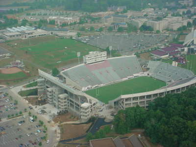 Quarter View Tech Stadium