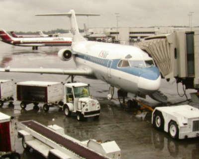 Us Air Fokker F28 Charlotte Nc