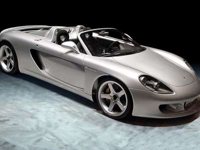 2001 Porsche Carrera GT Concept