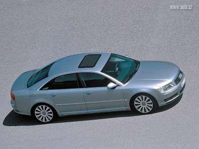 Silver Audi A8