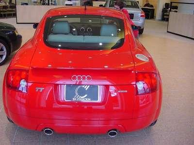 Audi Tt Lemans Back