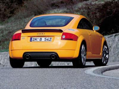 Audi TT - Yellow