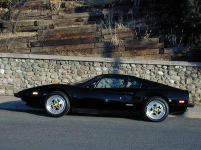Ferrari 308 Black
