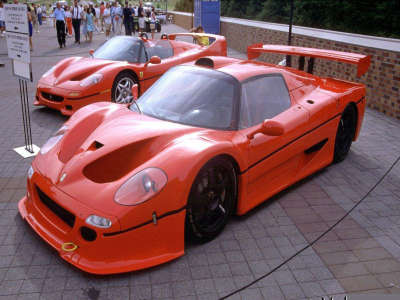 Ferrari F50 Lm And Ferrari F50
