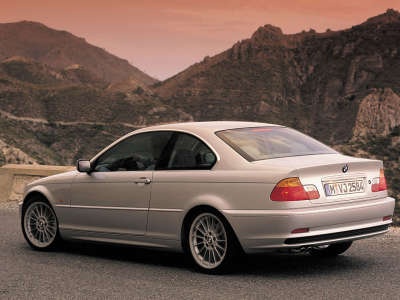 Backside of BMW 5