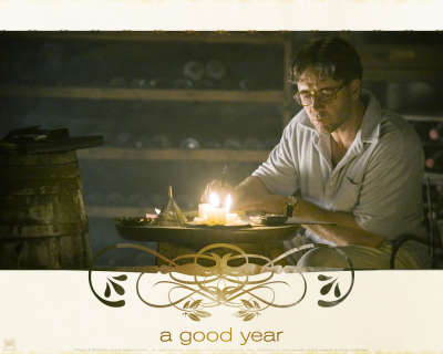 Rusell Crowe in A Good Year Movie