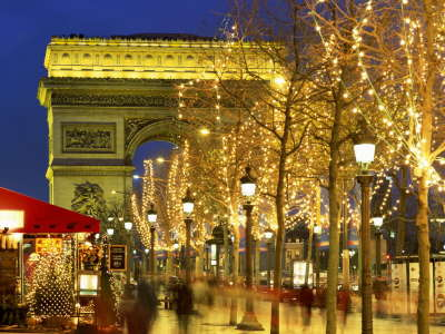 City on Christmas Time