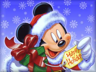 Santa Mickey