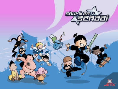 Shuriken School 001