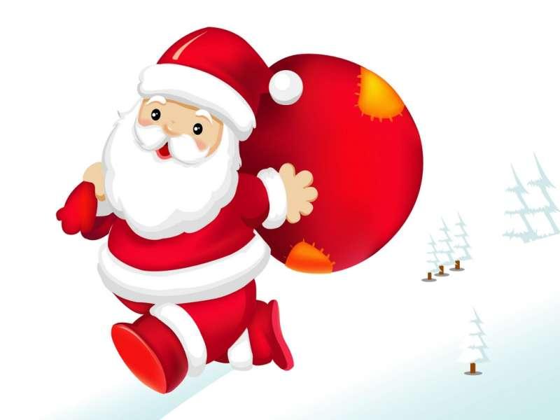 Ho, Ho, Ho, Santa Claus Is Coming