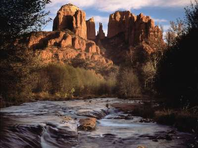Cathedral Rock, Oak Creek Canyon, Sedona, Arizona