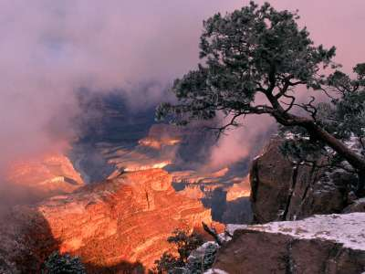Clearing Winter Storm, Grand Canyon National Par