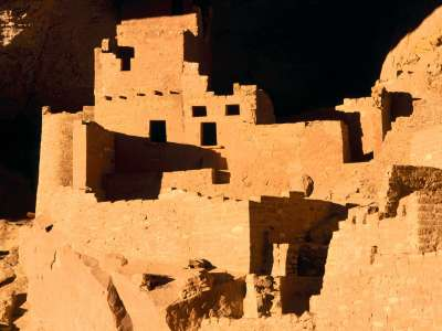 Cliff Palace, Anasazi Cliff Dwelling Mesa Verde