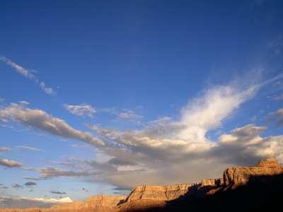 Clouds And Canyon, Grand Canyon, Arizona