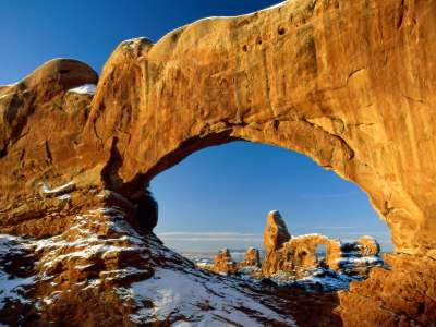 Crisp Winter Day, Arches National Park, Utah   1