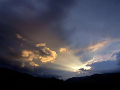 Dawn Sky, Cades Cove, Great Smoky National Park
