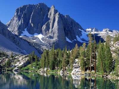 First Lake, Sierra Nevada Range, California