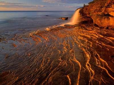 Lake Superior, Pictured Rocks National Lakeshore, Michigan