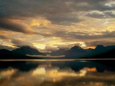 McDonald Lake, Glacier National Park, Montana