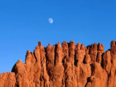 Moonrise, Bryce Canyon National Park, Utah