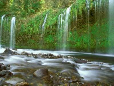 Mossbrae Falls, Dunsmuir, California