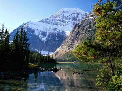 Mount Edith Cavell, Jasper National Park, Albert