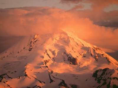 Mount Hood At Sunset in Oregon