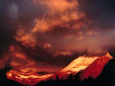 Mount Wilber, Glacier National Park, Montana   1