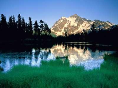 Peak Of Summer, Mount Shuksan, North Cascades Na