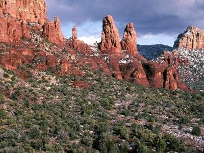 Red Rock Spires, Sedona, Arizona