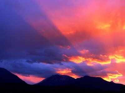Spiritual Awakening, Bitterroot Mountains, Monta