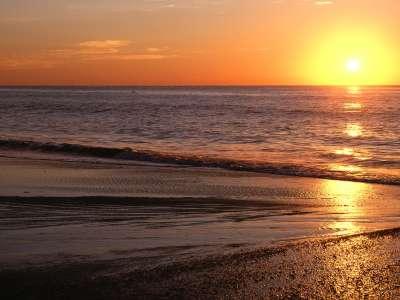 Sunrise Over The Atlantic, Myrtle Beach, South C
