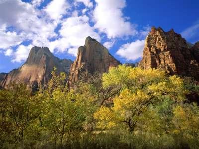 Three Patriarchs, Zion National Park, Utah   160
