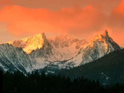 Trapper Peak, Bitterroot Mountains, Montana