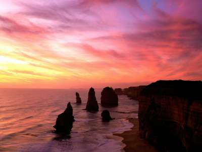 Twelve Apostles, Port Campbell National Park, Vi