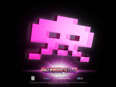 Pink Invader