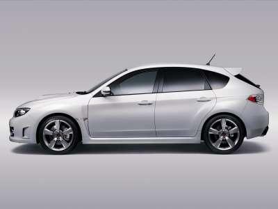 2009 Subaru Impreza WRX STI A Line 02