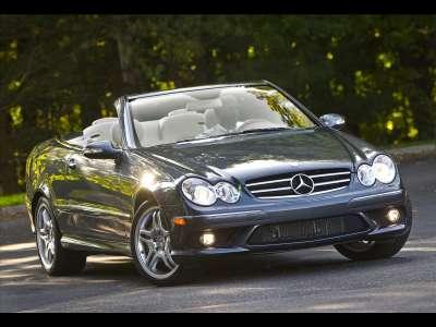 Mercedes Benz CLK550 Cabriolet 2009 04