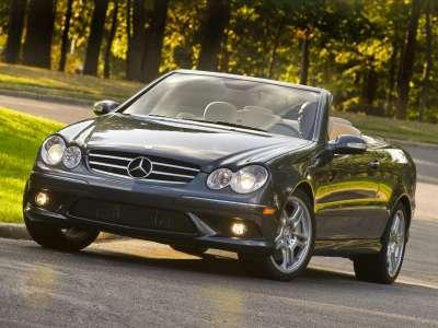 Mercedes Benz CLK550 Cabriolet 2009 07
