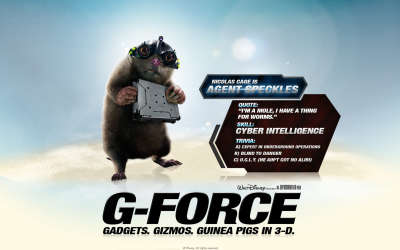 G Force Speckles
