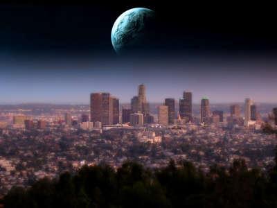 Los Angeles Skyline 002
