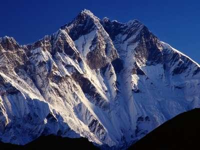 The Peak Of Mount Lhotse Tengpoche Sagarmatha Nepal