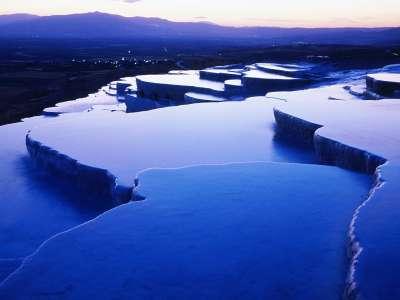Thermal Springs Pamukkale Turkey