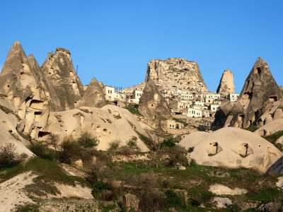 Uchisar Area Cappadocia Turkey