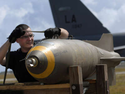 Military Aircraft  and Bomb