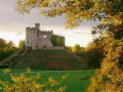 Cardiff Castle Wales United Kingdom